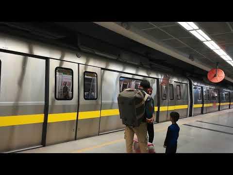 DMRC Delhi metro station underground