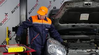 Как се сменят Въздушен филтър на FIAT DOBLO Box Body / Estate (263) - онлайн безплатно видео