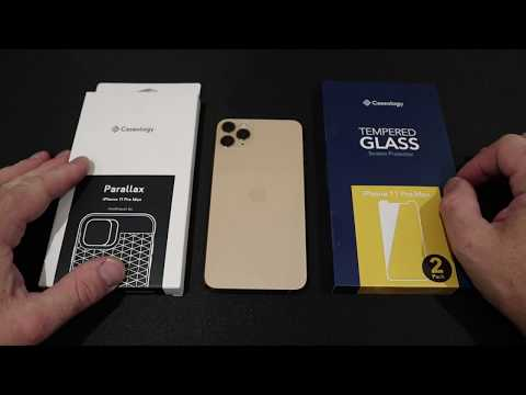 IPhone 11 Pro Caseology Glass Screen Protector And Case