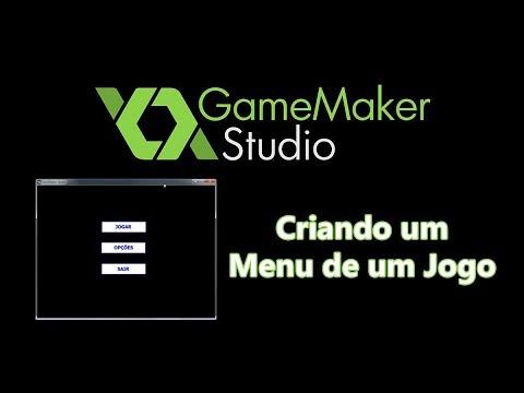 Game Maker Studio – Criando um Menu de um Jogo