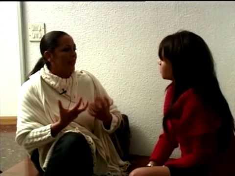"""Isabel Pantoja entrevistada en """"Café de tarde"""" en 2005"""