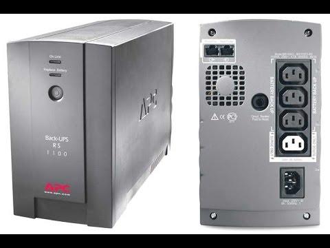 APC Back-ups Rs 1100 Замена аккумуляторов.