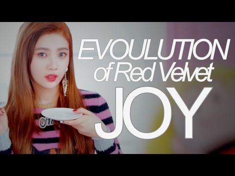 Evolution of Red Velvet JOY (MVs and Lives, 2014-2017)