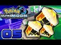 Totem Sticker Collection BEGINS | Pokémon Ultra Moon Let's Play #5 - Ultra Sun and Moon Gameplay