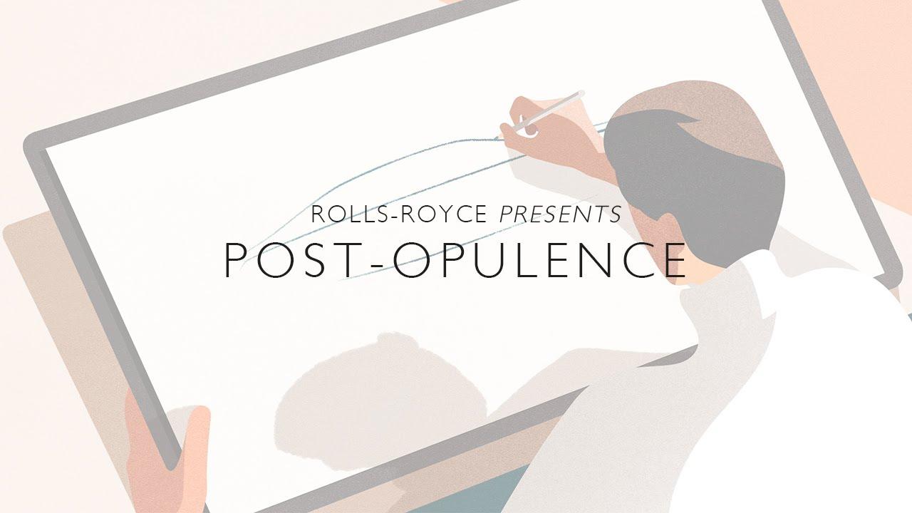 Post Opulence, new Ghost's minimalist design treatment