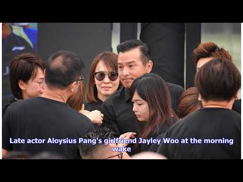 Fans, Celebrities And Politicians Pay Respects At Wake Of Aloysius Pang