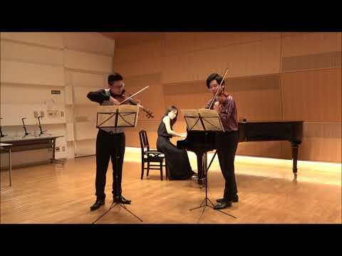 3.モシュコフスキ:2台のヴァイオリンとピアノのための組曲Op.71
