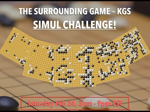 LIVE: The Surrounding Game KGS Simul Challenge!