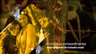 Video An�nimas extraordinarias, ganador India Catalina mejor programa de inclusi�n social
