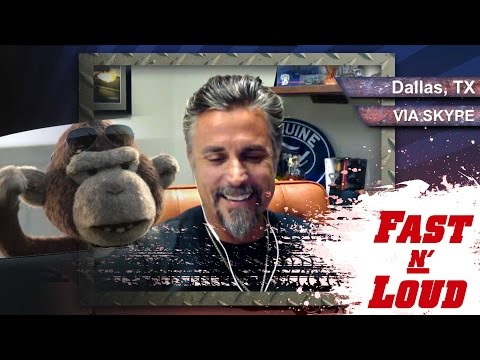 Mr. Gas Monkey Gets Fast N' Loud - Autoline After Hours 288