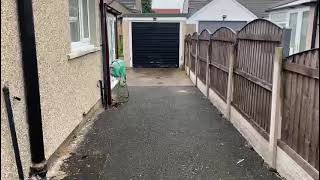 Before: ECO Drive SUDS Compliant - Morecambe, July 2021