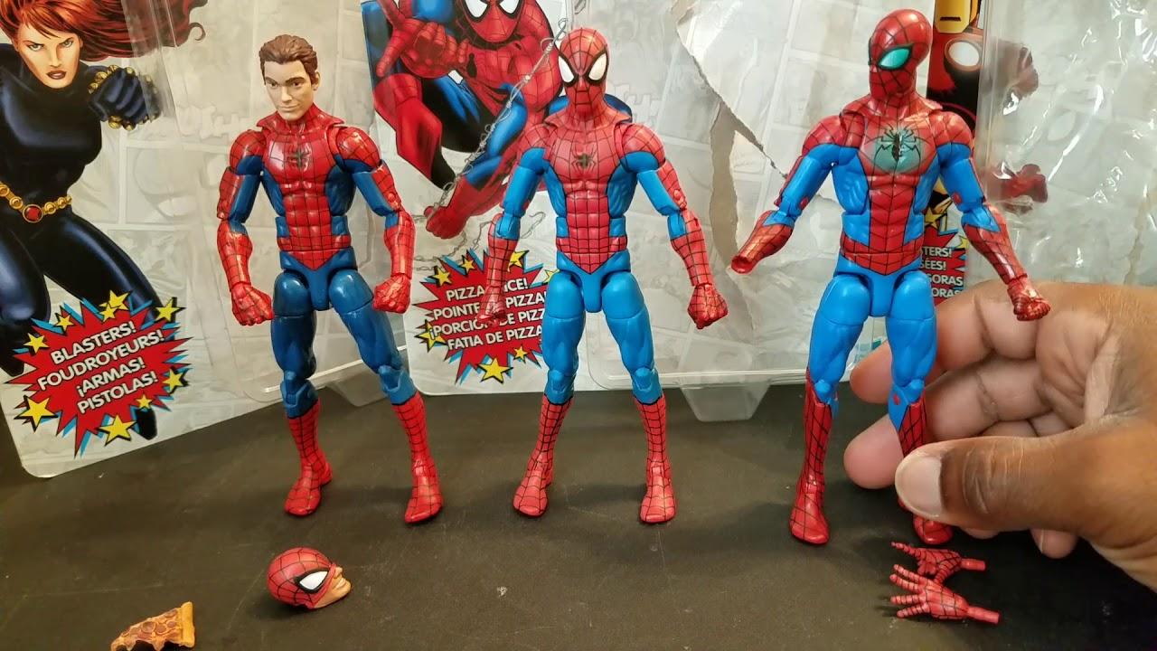 Retro Series Spider-Man Action Figure Marvel Legends Vintage