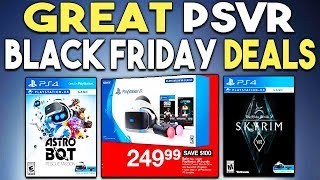 Great Black Friday Psvr Deals Now Is The Time To Buy Playstation Vr Youtube