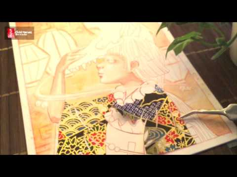 Kiv Bui   Japanese Cutting Art (Only) video