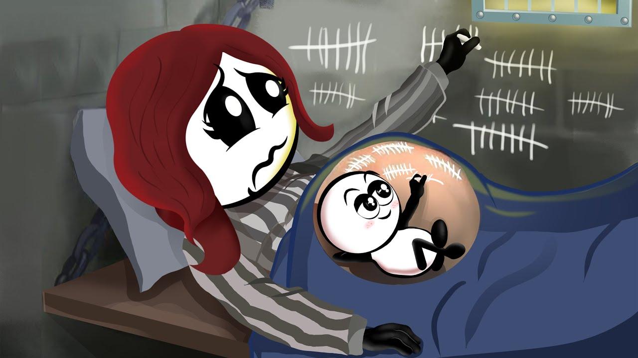 Pregnancy Prison Break ~ Pregnancy Compilation of All episodes ~ Pencil Cartoons [HD]