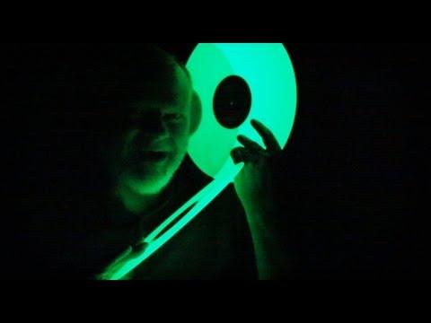 Some glow-in-the-dark vinyl records
