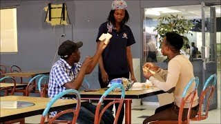EATING OTHER PEOPLE'S FOOD (PART 2)| TUT PRETORIA CAMPUS| SOUTH AFRICAN PRANKS