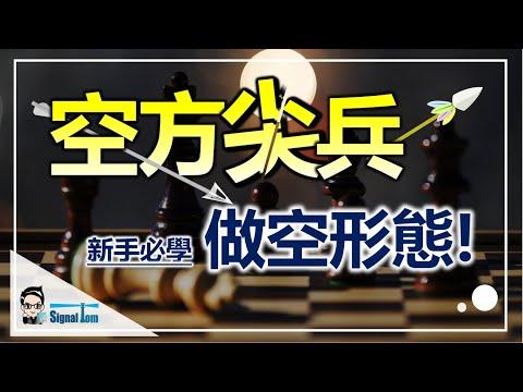 【空方尖兵】-K線組合做空形態|新手必學技術