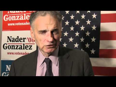 Ralph Nader - Symphony Space Press Conference - Citizen Activism