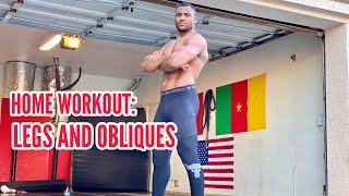 Fitness With Francis Home Workout- Legs And Obliques