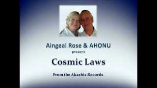 Cosmic Laws from the Akashic Records with Aingeal Rose & AHONU