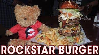 ROCKStar Burger Challenge w/ 4,520 CALORIES in Chicago, Illinois!!