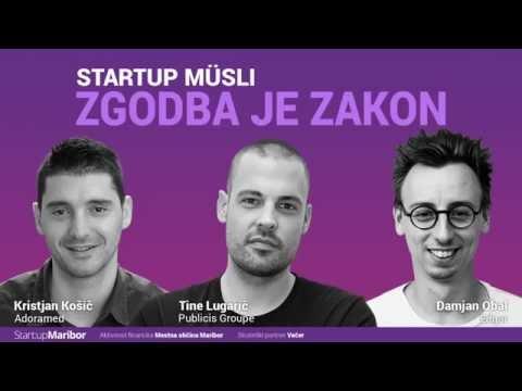 StartupMüsli#2: Zgodbe so zakon