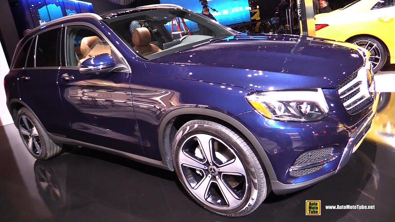 2019 Mercedes GLC350e Hybrid - Exterior and Interior Walkaround - 2019 NY Auto Show