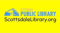 The Scottsdale Public Library has lots of stuff!