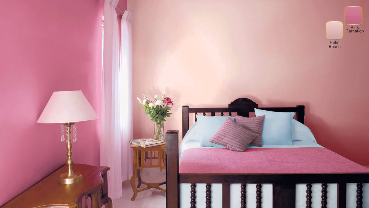 decorate with innocent pinks youtube. Black Bedroom Furniture Sets. Home Design Ideas