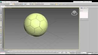 Bola De Futebol 3ds Max 2015