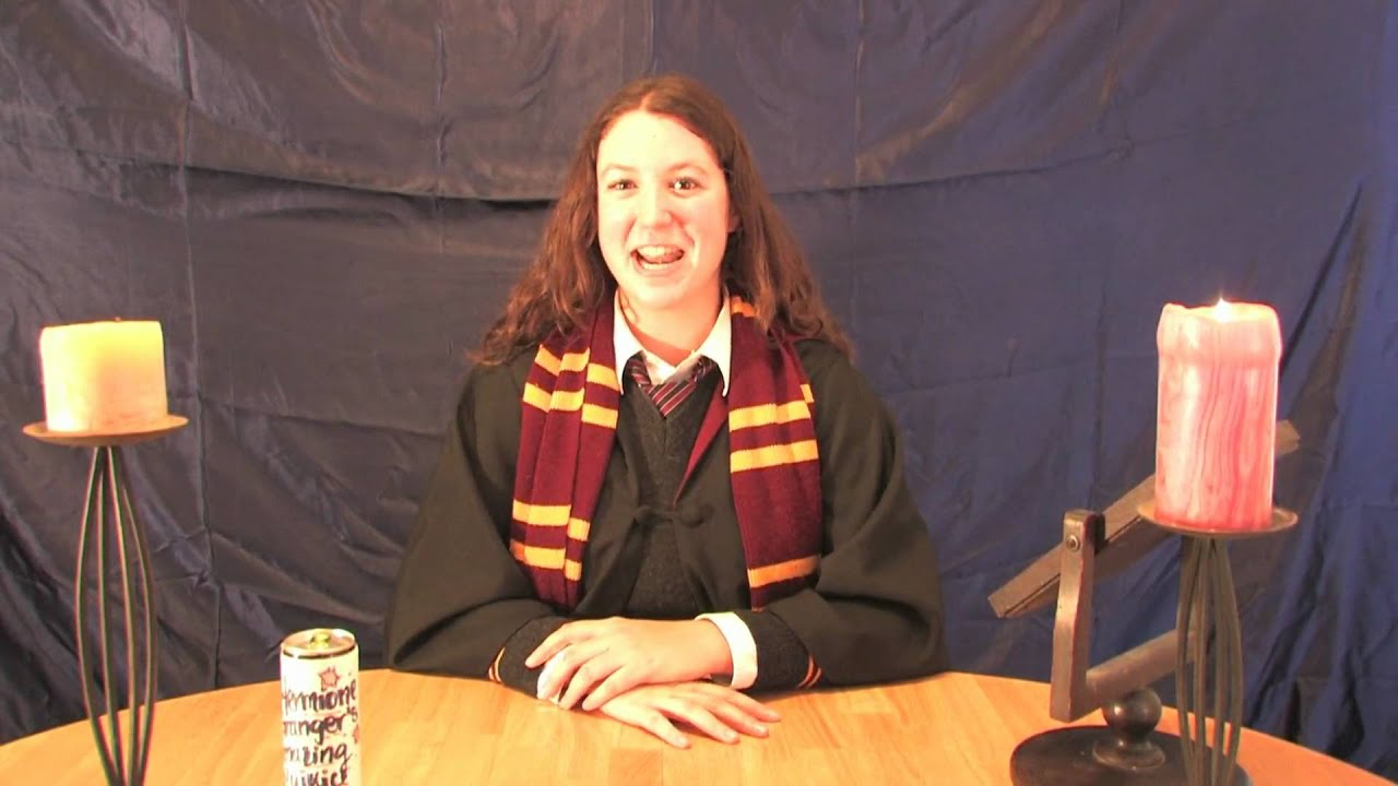 Hermione Granger's Amazing PolyJuice Potion Commercial (Harry Potter  transformation)