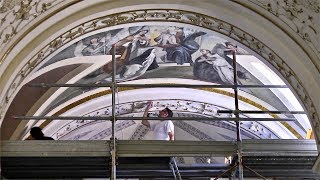 Vasto - lavori di restauro della navata