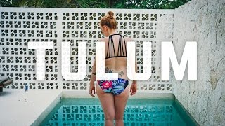 Mexico Vlog - Our BEAUTIFUL HOME IN TULUM, MEXICO! (Mexico Day 4)