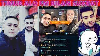 BIGO LIVE TIMUR ALO FM BILAN OCHIQ SUXBAT. RUSTAM RAXMONOV