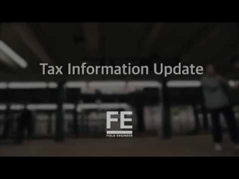 How to update Tax Information in your Profile