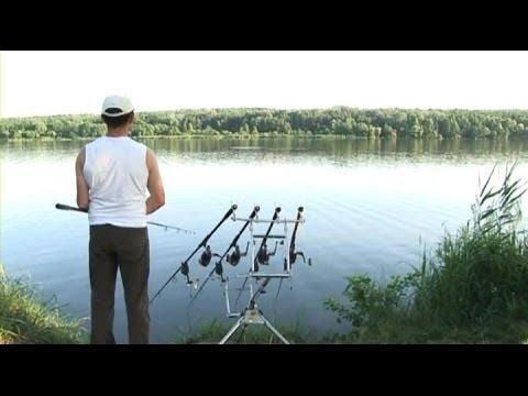 Ловля карпа и белого амура, ловля карпа весной, хорошая рыбалка