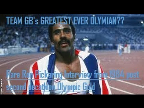 Great Britians Greatest Olympian Daley Thompson - Rare 1984 Ron Pickering interview