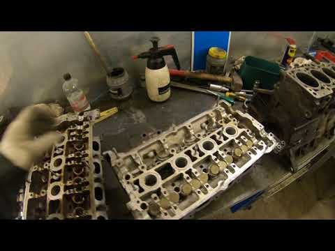 Фото к видео: Passat 1.8T Ремонт двигателя AWM часть 2