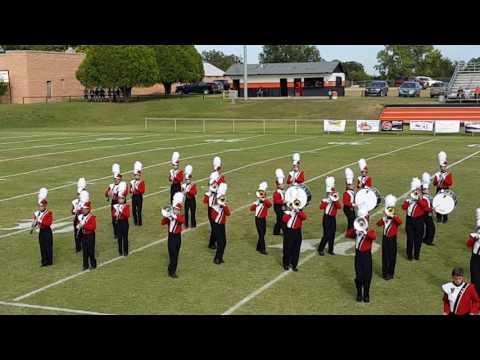'Viva La Vida'  Pauls Valley High Band performance