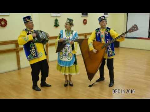Tatar music on balalaika, balalaika-contrabass, and garmoshka