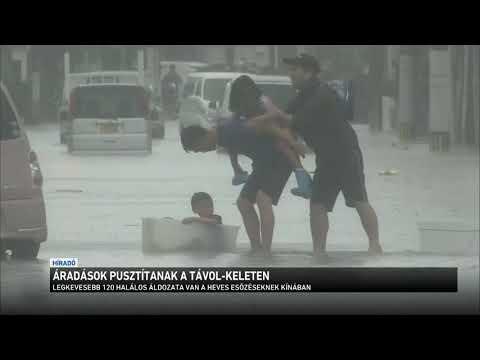 Áradások pusztítanak a Távol-Keleten thumbnail