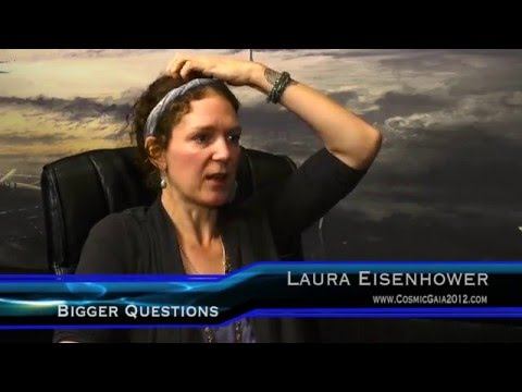 Laura Eisenhower - mind control, secret space, Corey Goode + - Ron James' Bigger Questions