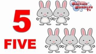 Aprender números en ingles del 1 al 10 - vídeo para niños. BBTV32