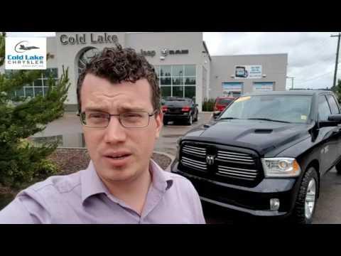 2013 RAM 1500 Sport Review in Cold Lake Alberta