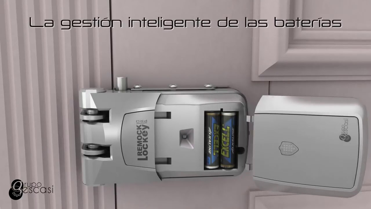Cerradura De Seguridad Invisible Remock Lockey Pro Youtube