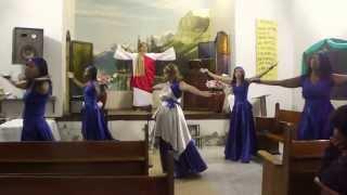 coreografia  Meu milagre - Grupo Óleo de Alegria