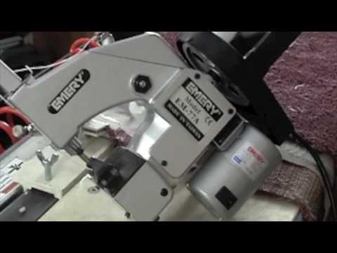 Handheld Sewing EM40 40B YouTube Amazing Handheld Sewing Machine For Canvas