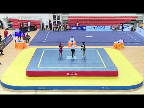 27th SEA GAMES MYANMAR 2013 - Wushu 09/12/2013 Travel Video