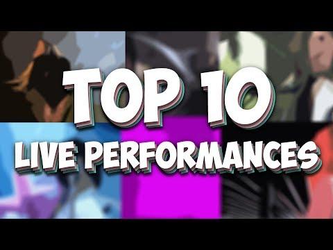 My Top 10 Favorite Live Performances